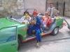 Les clowns_voiture_verte